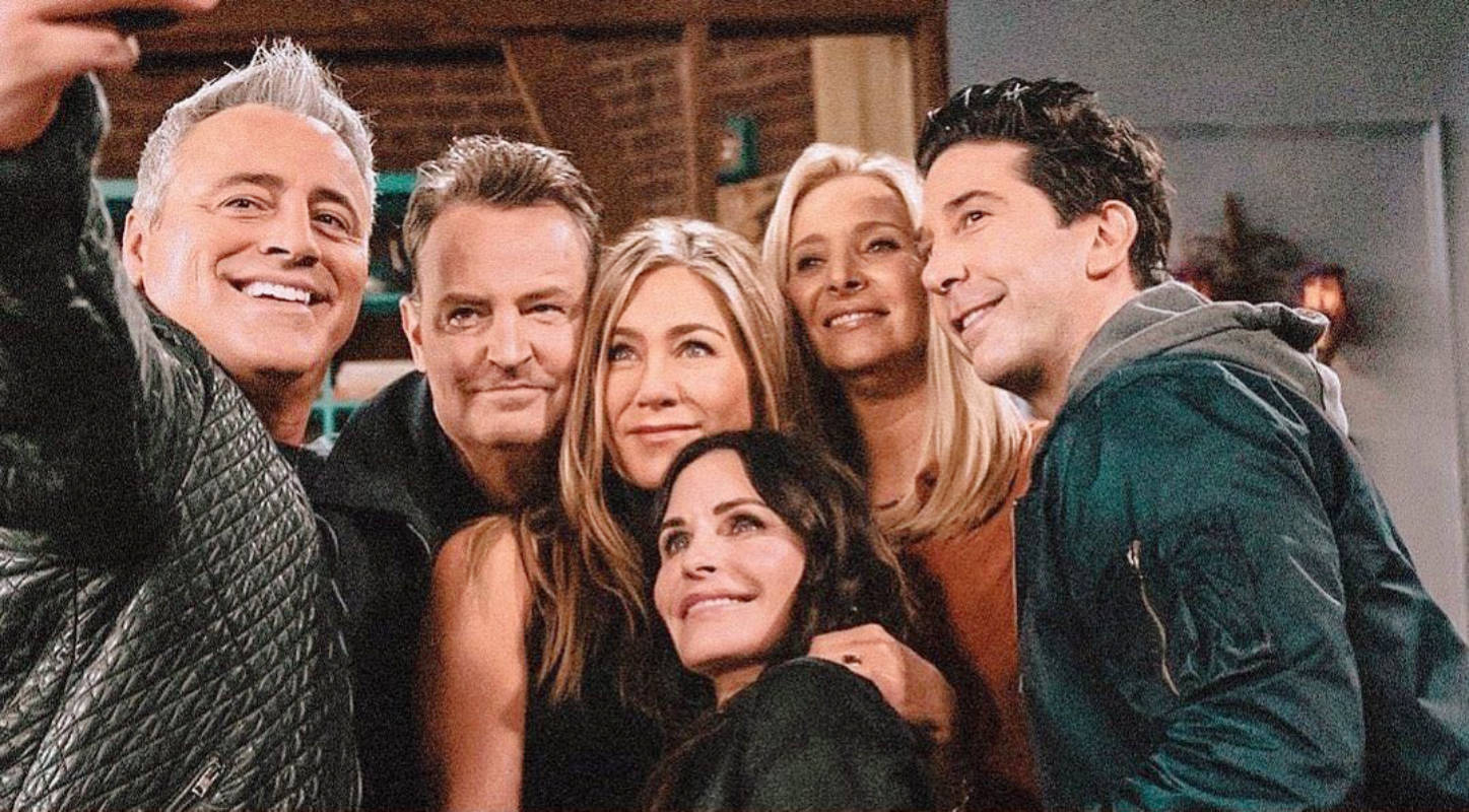 These pictures of the most-loved cast of 'Friends' will fill their fans' hearts with happiness!