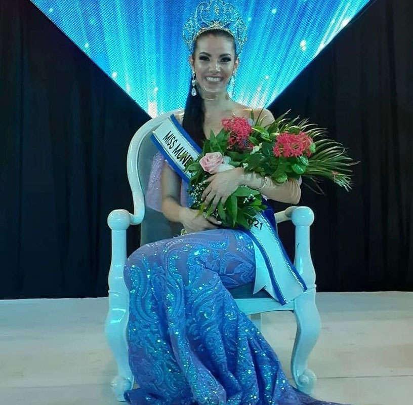 Mariela Cerros chosen as Miss World Nicaragua 2021