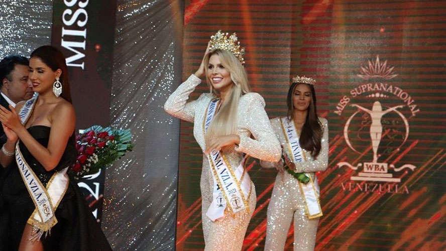 Valentina Sanchez Trivella chosen as Miss Supranational Venezuela 2021