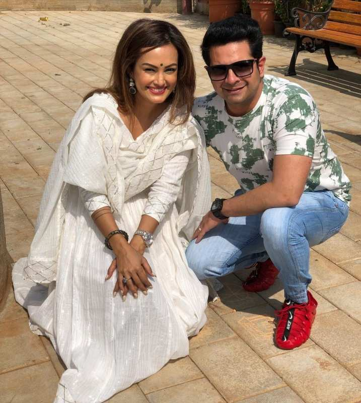 Karan Mehra and Nisha Rawal: Throwback to happy memories from the couple's love story