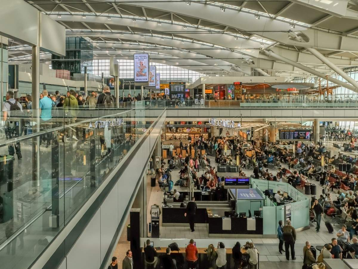 Heathrow Airport in London opens a terminal for 'red list' countries like India