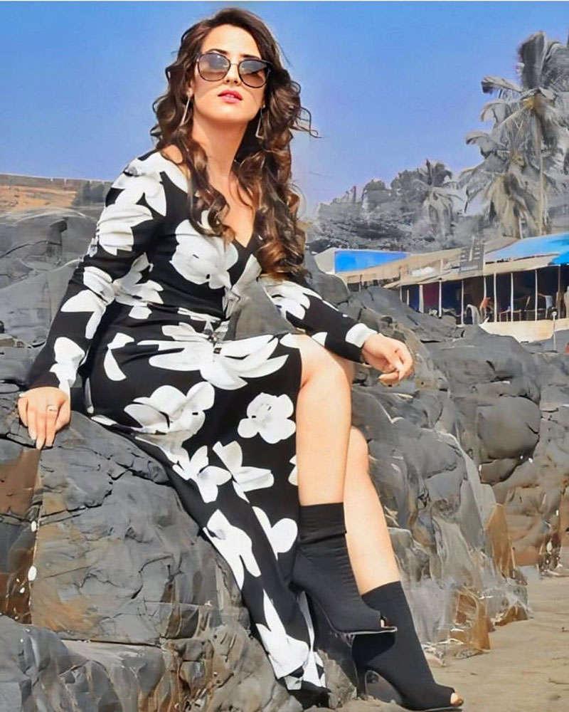 Ishq Mein Marjawan fame Aalisha Panwar is a real-life fashionista