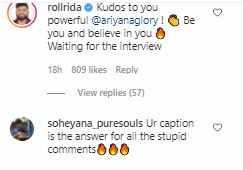 Netizens on Ariyana
