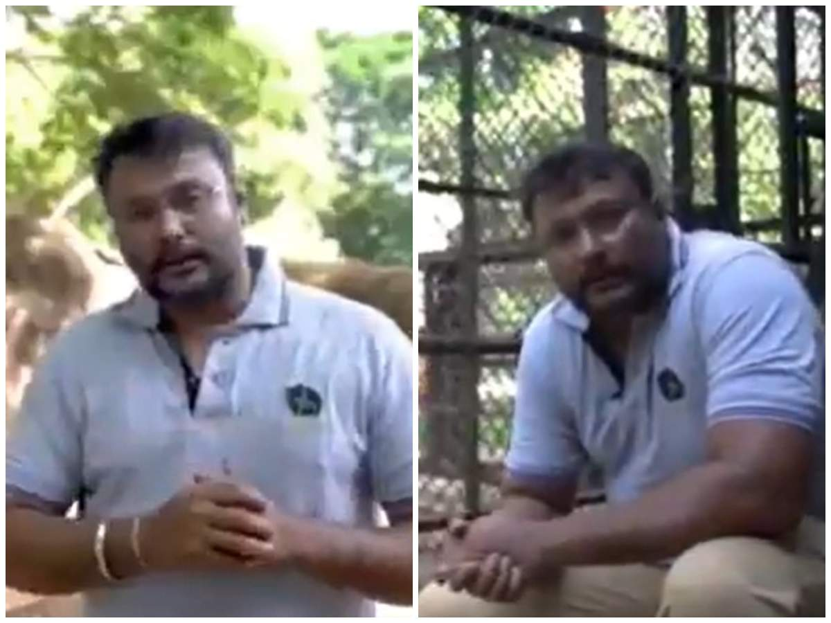 Darshan comes out in support of animal adoption