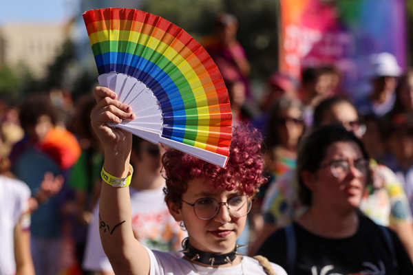 LGBTQ community holds Pride parade in Israel