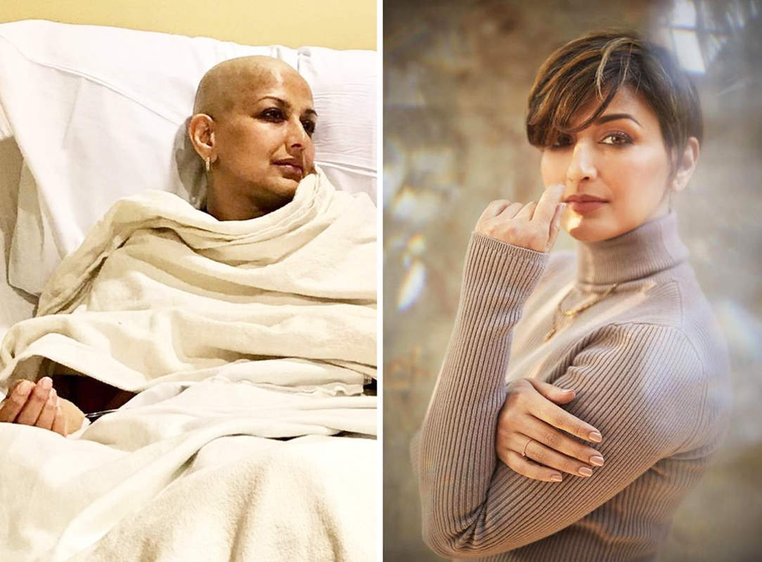 Sonali Bendre shares then-and-now picture with a powerful message on Cancer Survivors Day