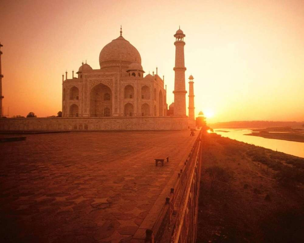 Pictures of the best places in India to watch sunsets
