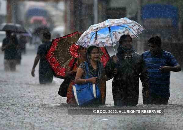 These pictures show how massive rain wreaks havoc in Mumbai