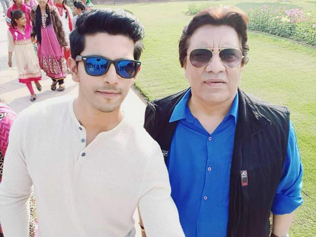 Kanwar with dad