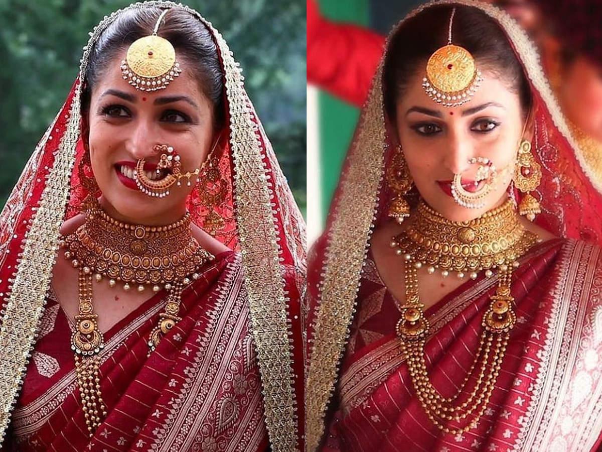 yami gautam wedding looks
