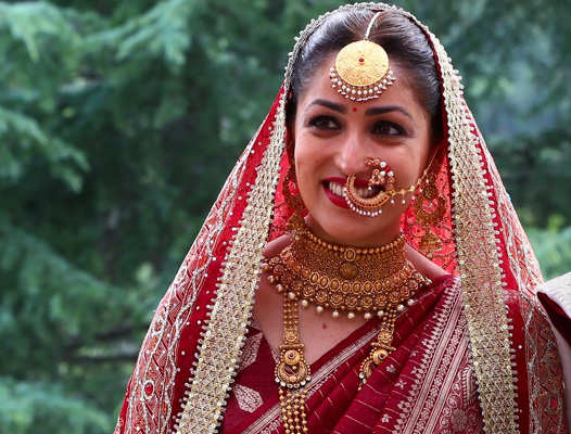 yami gautam bridal looks