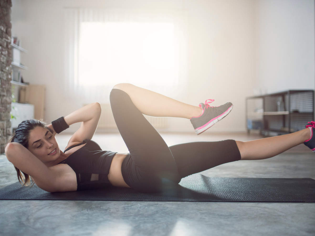 How to do bicycle crunches correctly to shed kilos
