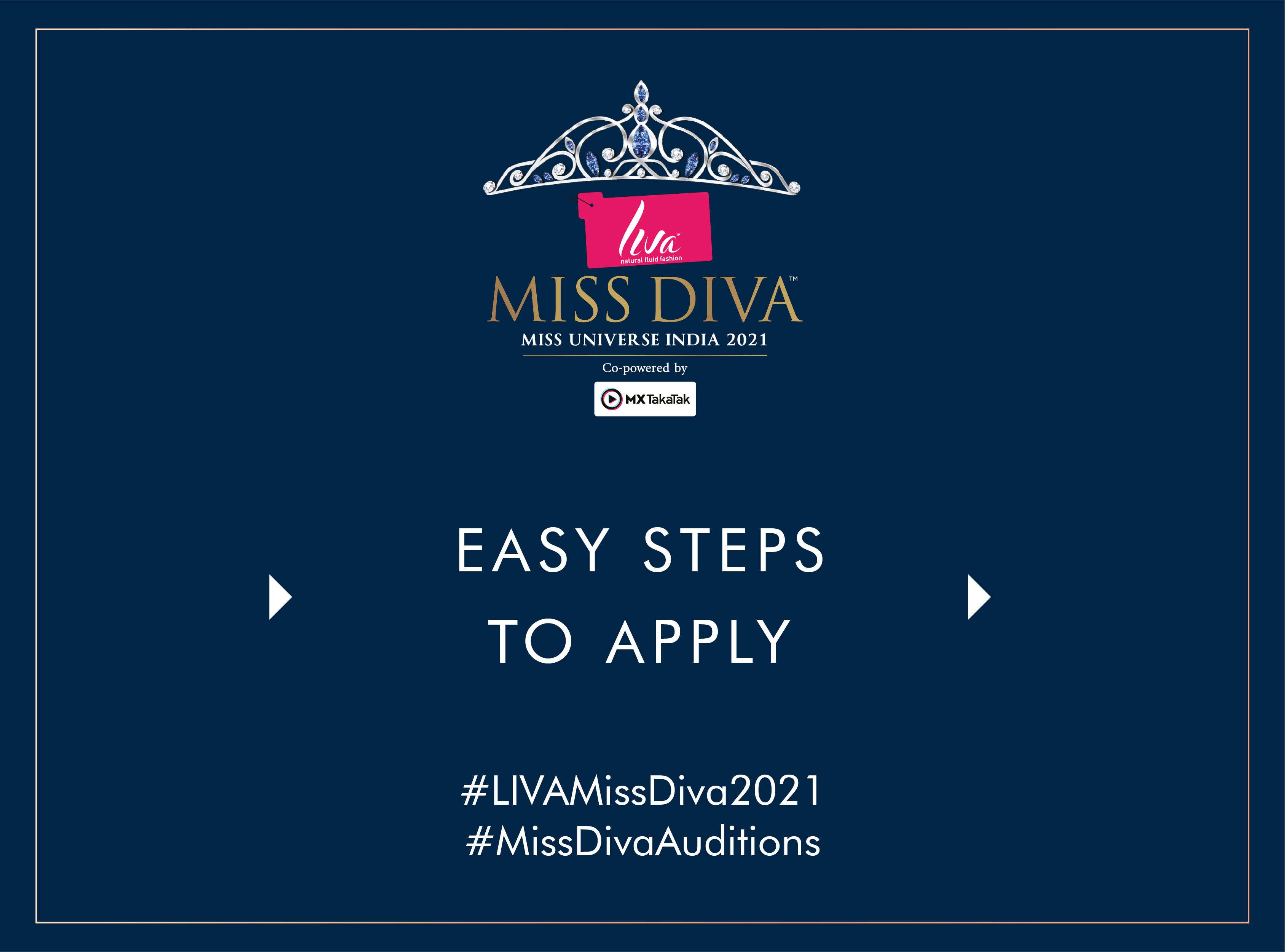 Steps to register for LIVA Miss Diva 2021