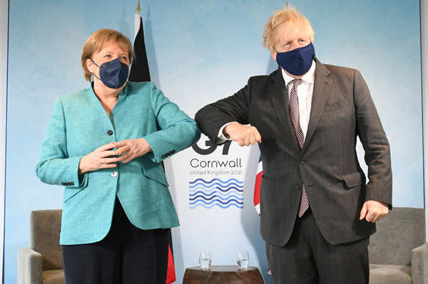 Pictures from G7 summit held in UK