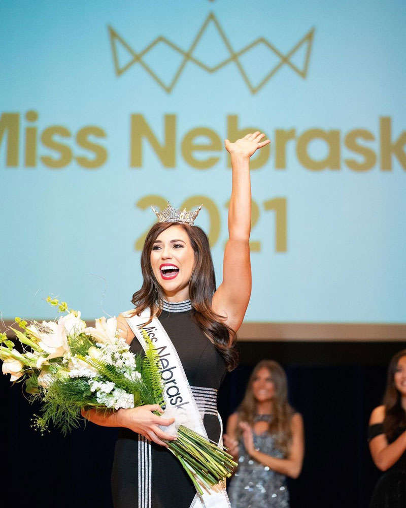 Morgan Holen selected as Miss Nebraska 2021