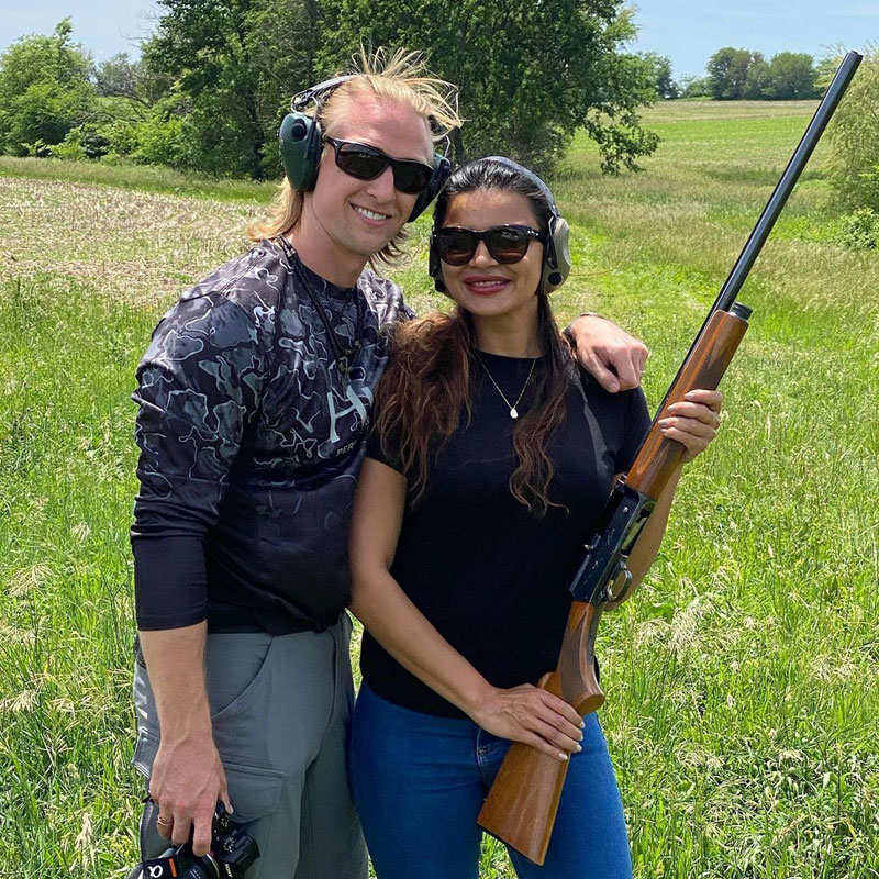 Adorable pictures of Aashka Goradia and her husband Brent Goble