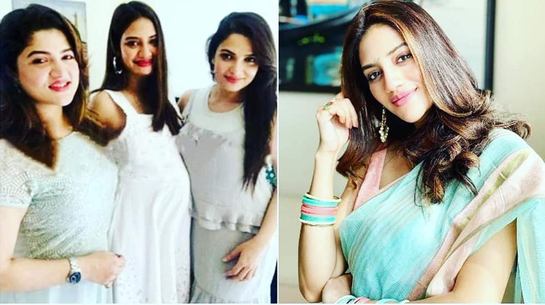 These unseen pictures of Nusrat Jahan flaunting her baby bump go viral