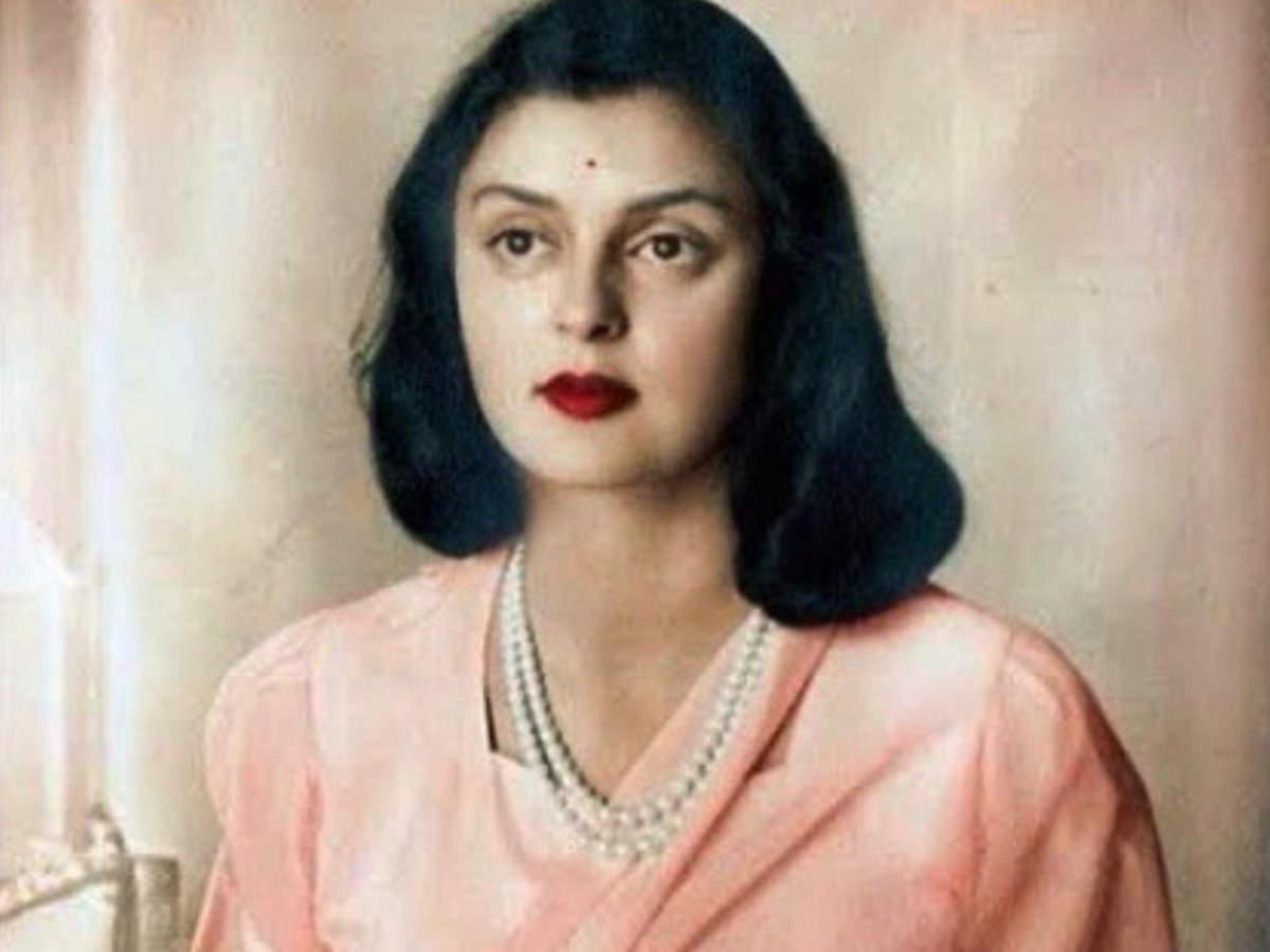 1. Maharani Gayatri Devi of Jaipur