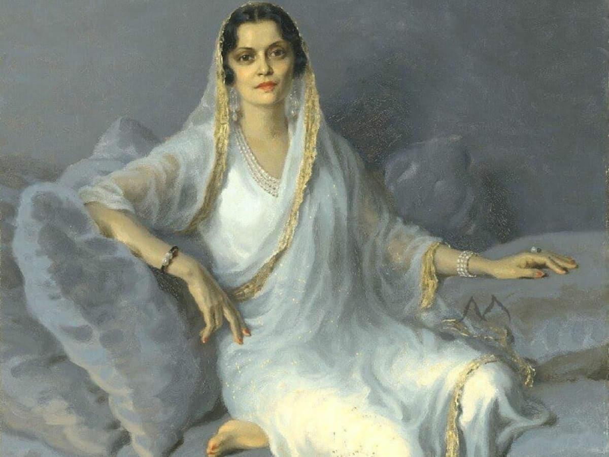 2. Maharani Indira Devi of Baroda & Cooch Behar
