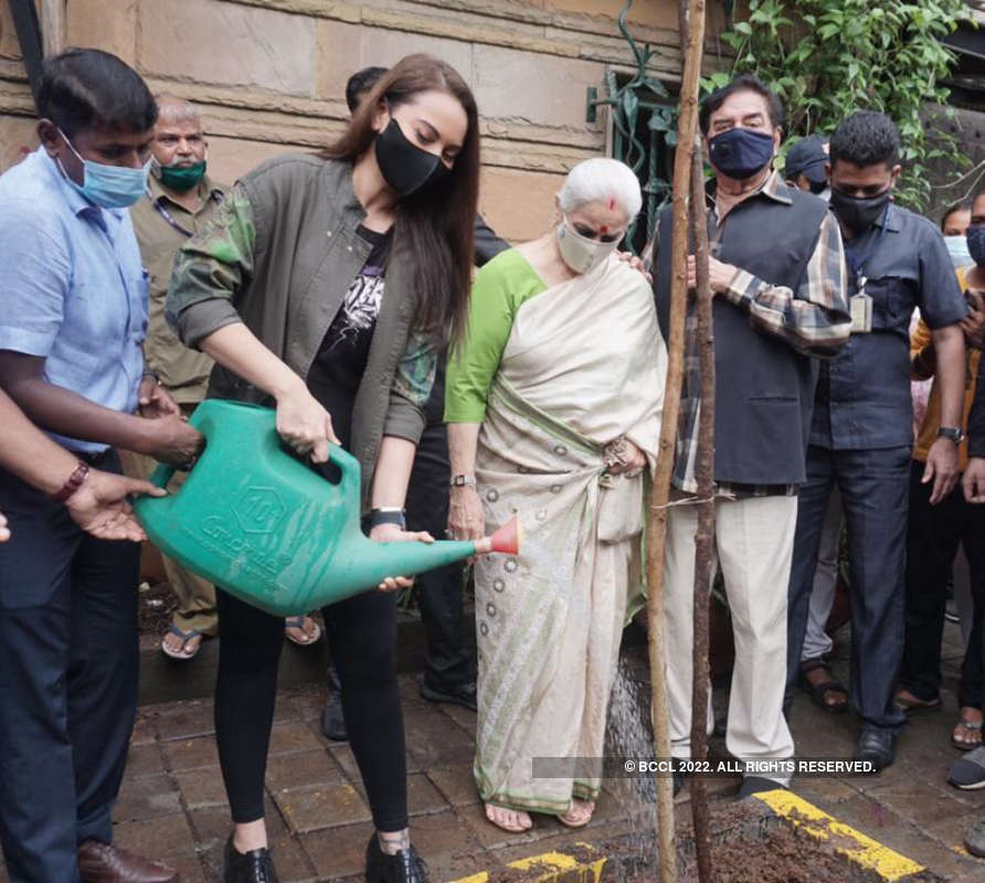 Post Cyclone Tauktae, Sonakshi Sinha encourages fans to adopt trees