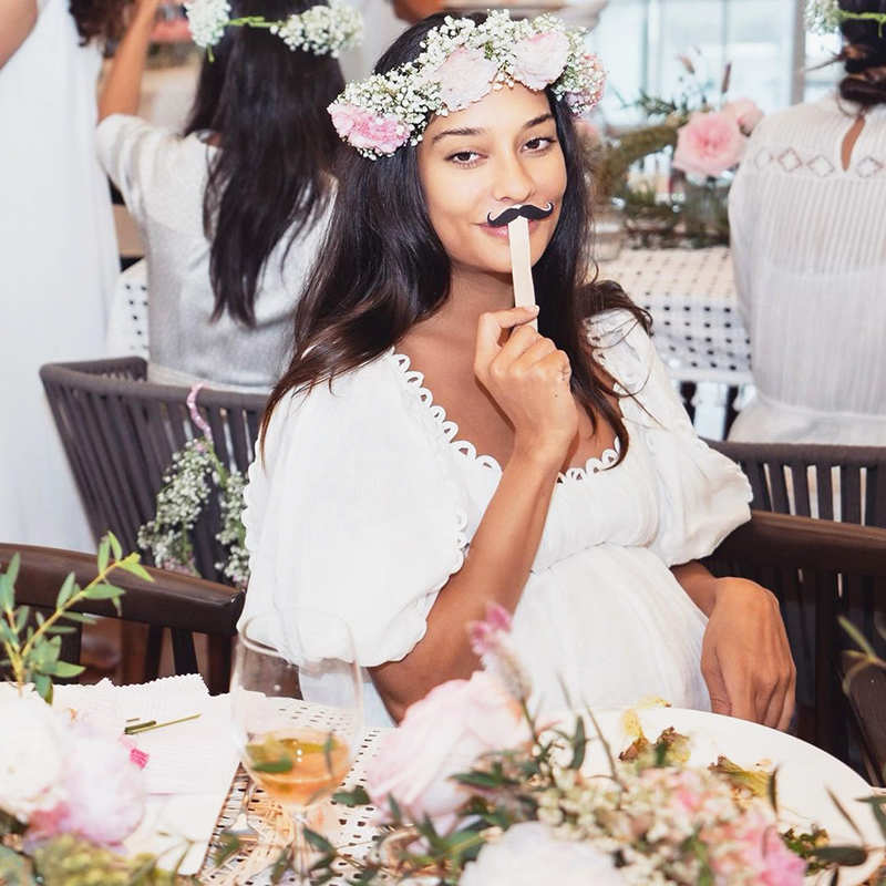 Lisa Haydon welcomes her third child; announces arrival of baby girl