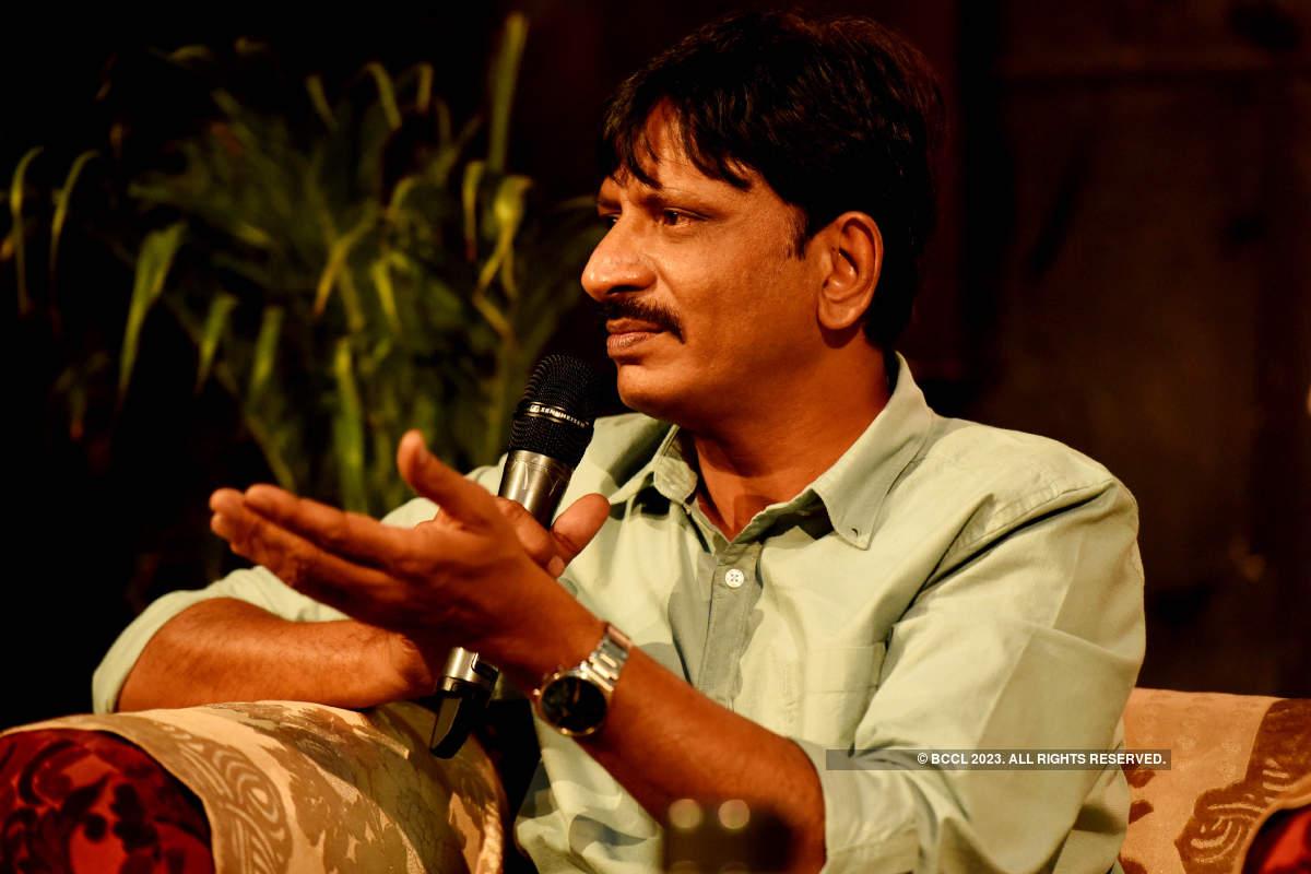 Actor Rajesh Tailang attends Ravindra Rang Samwad