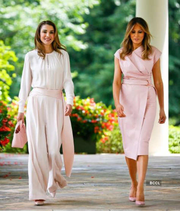 Queen Rania of Jordan ups the glam quotient with her bewitching pictures