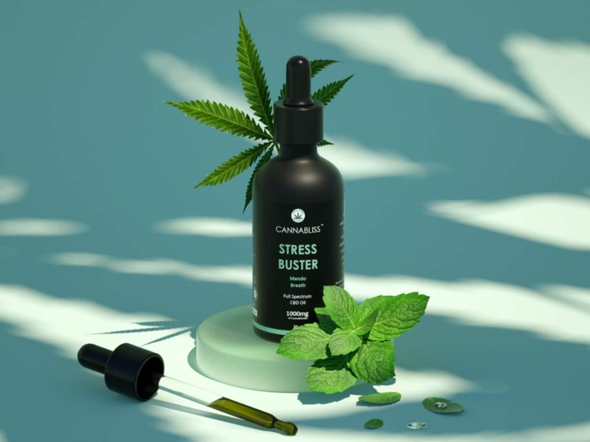 CannaBliss stress buster oil