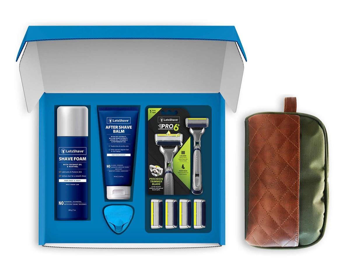 Pro 6 plus premium shaving set