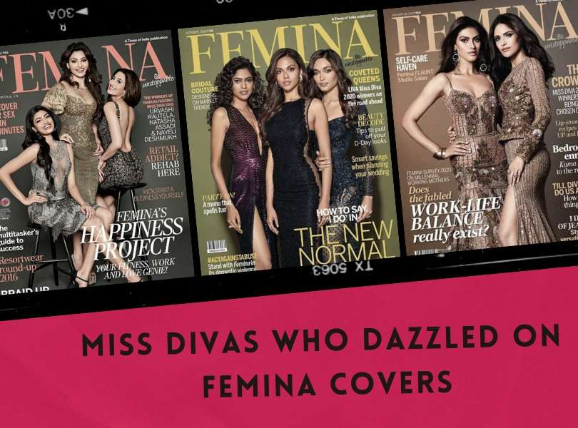 Miss Divas who dazzled on FEMINA covers