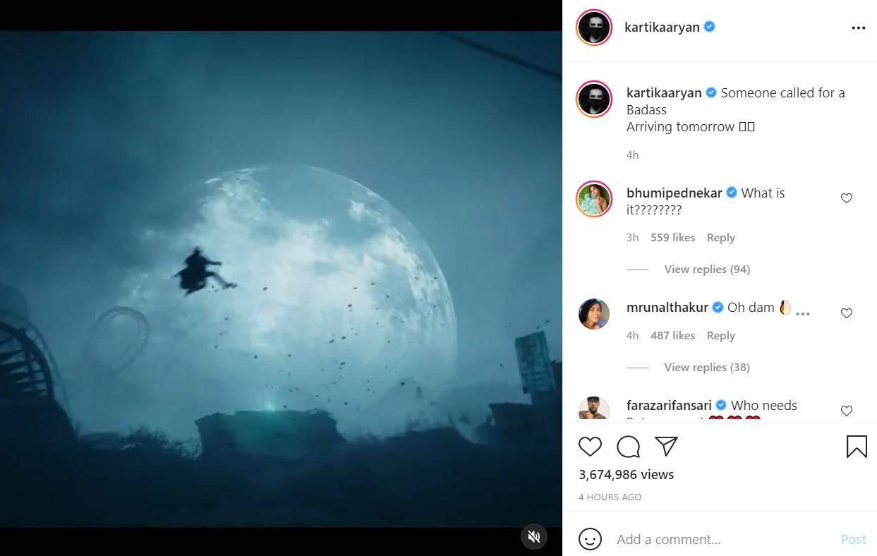 Kartik Aaryan Instagram