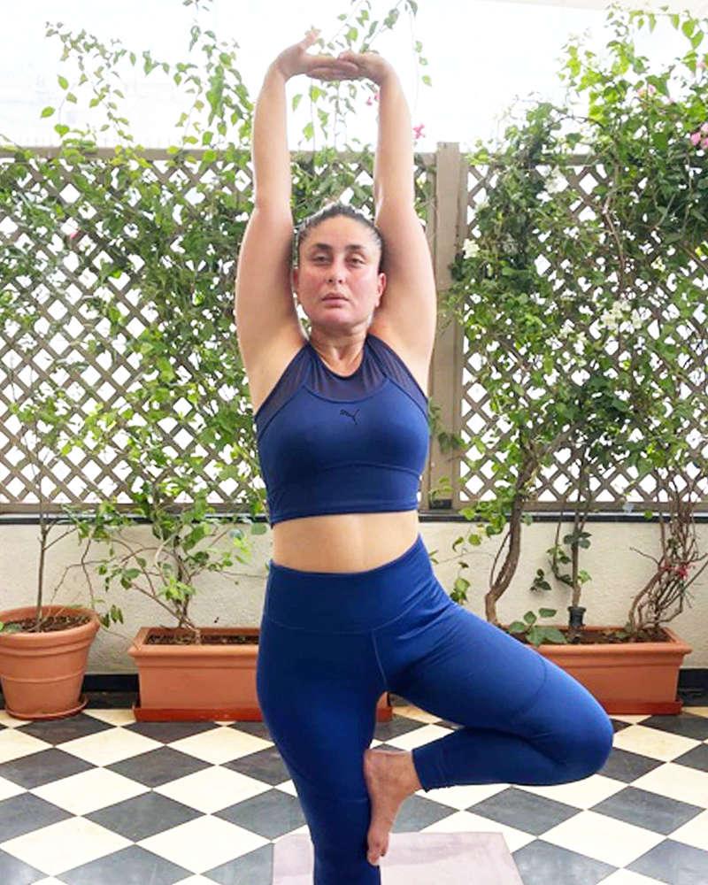 Kareena Kapoor Khan is teasing fans with a bikini picture on International Yoga Day