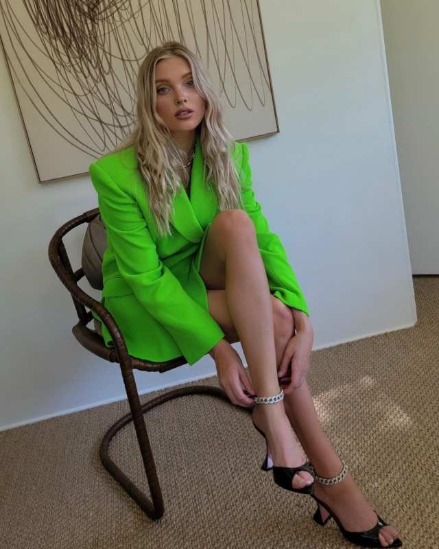 These photos of basketball player turned model Elsa Hosk will make you say 'OMG'