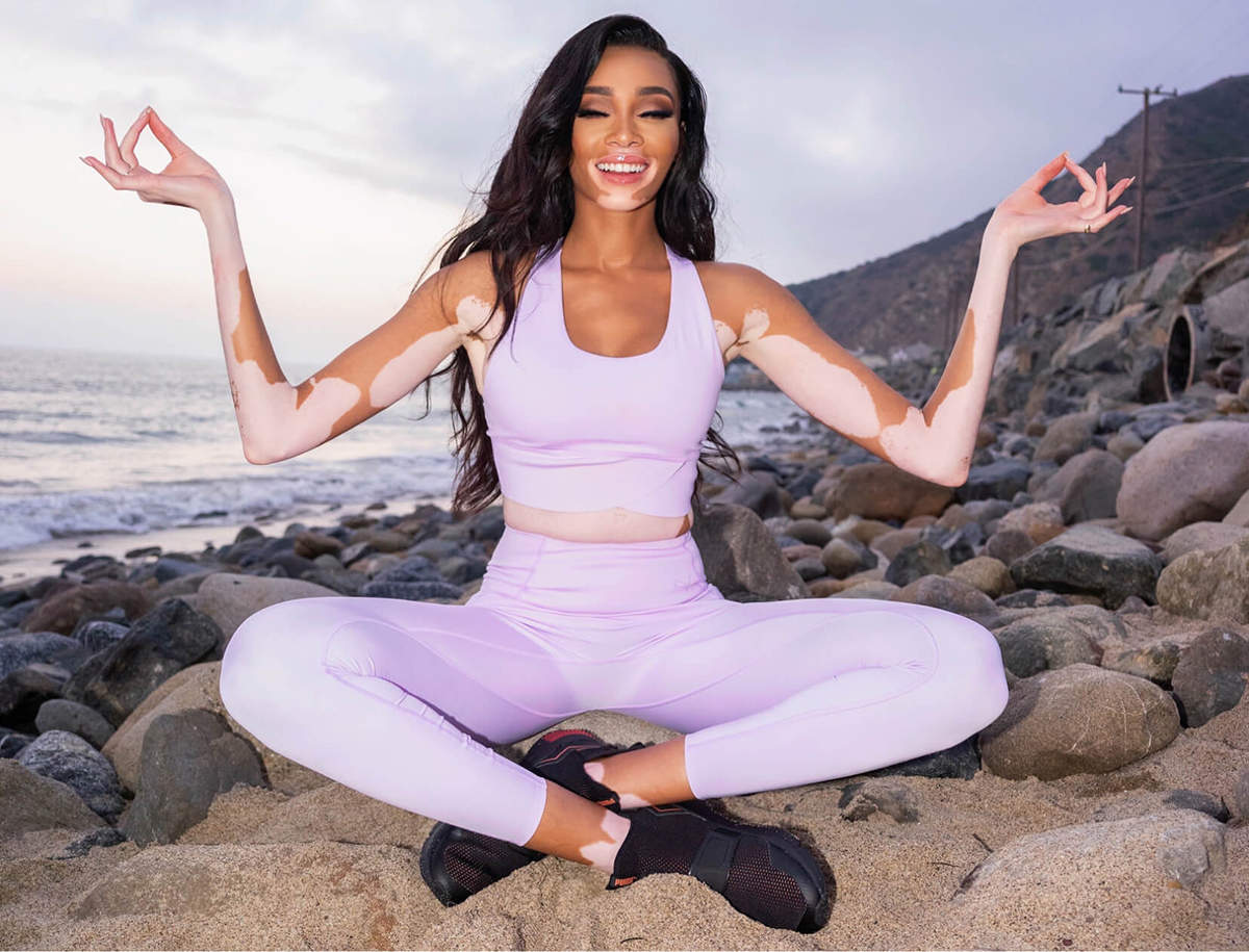 Models who practice Yoga to stay fit