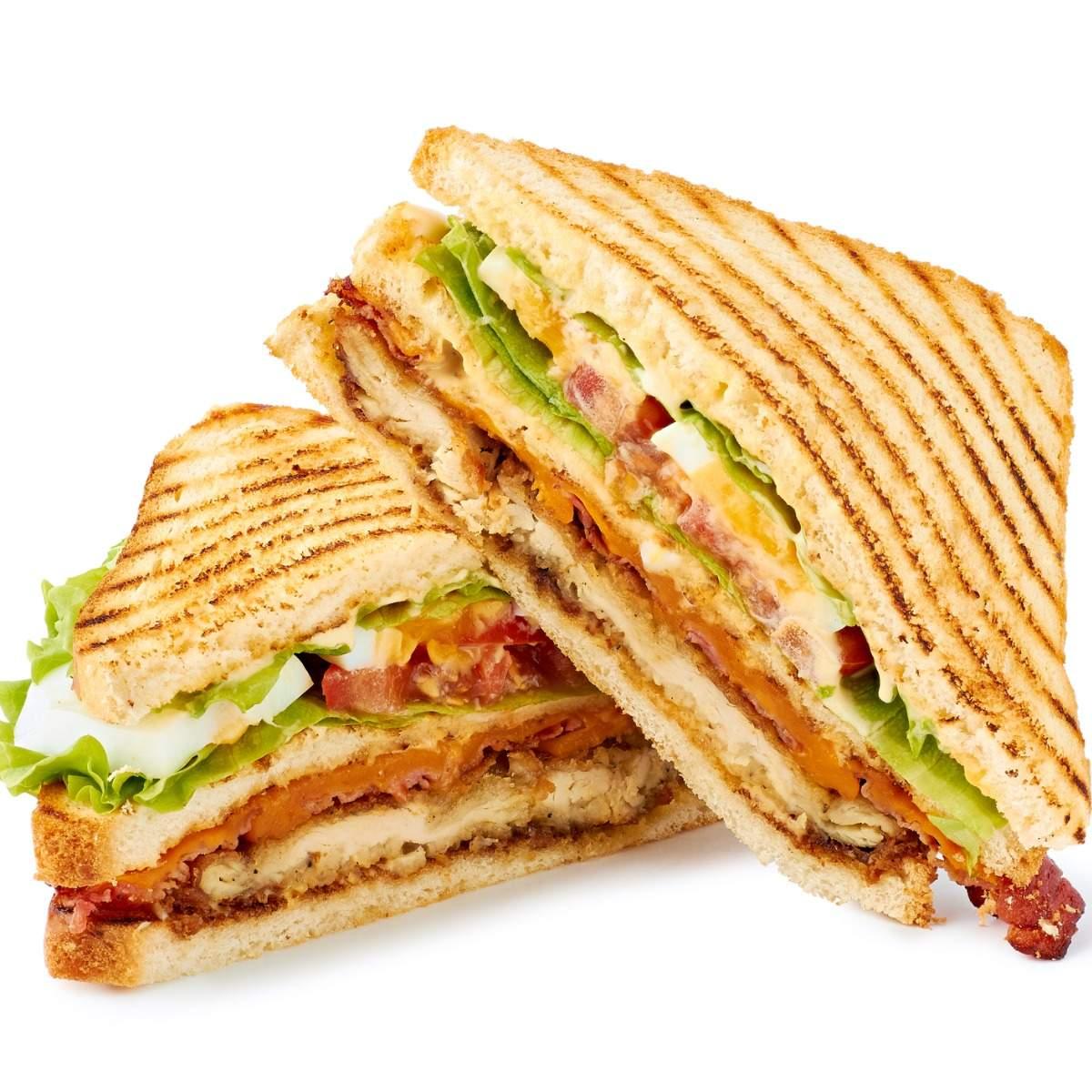 Club Sandwich Recipe: How to Make Club Sandwich Recipe | Homemade Club  Sandwich Recipe