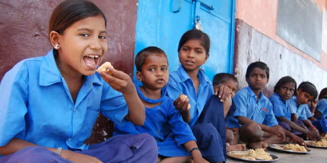 Dry ration to students as a replacement of mid-day meal