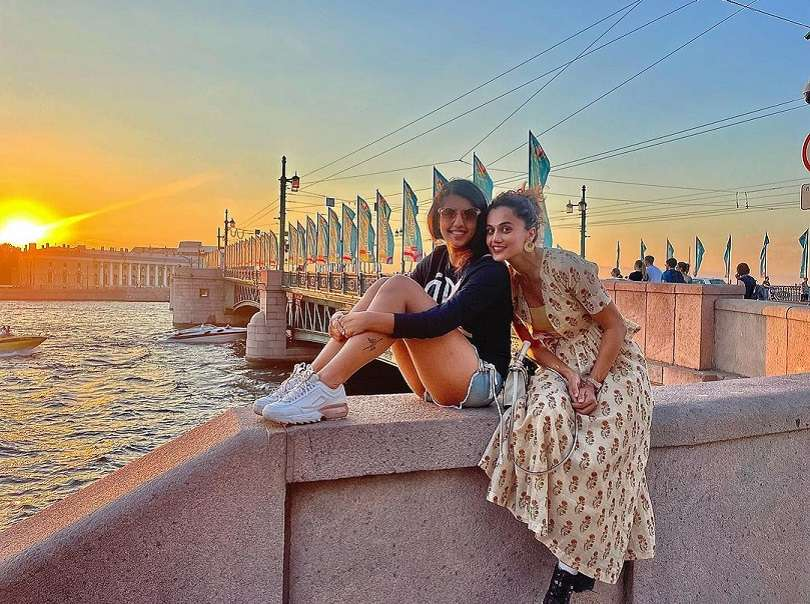In pics: Taapsee Pannu's exotic vacation in Russia