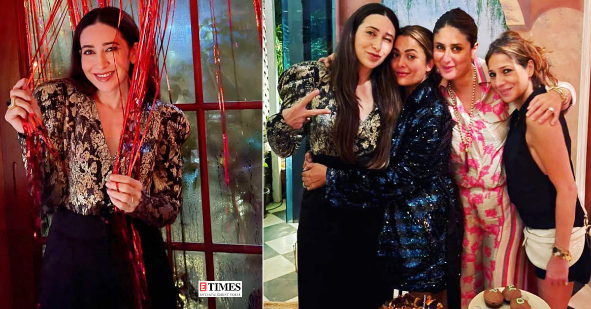 Inside pictures from Karisma Kapoor's birthday dinner with BFFs