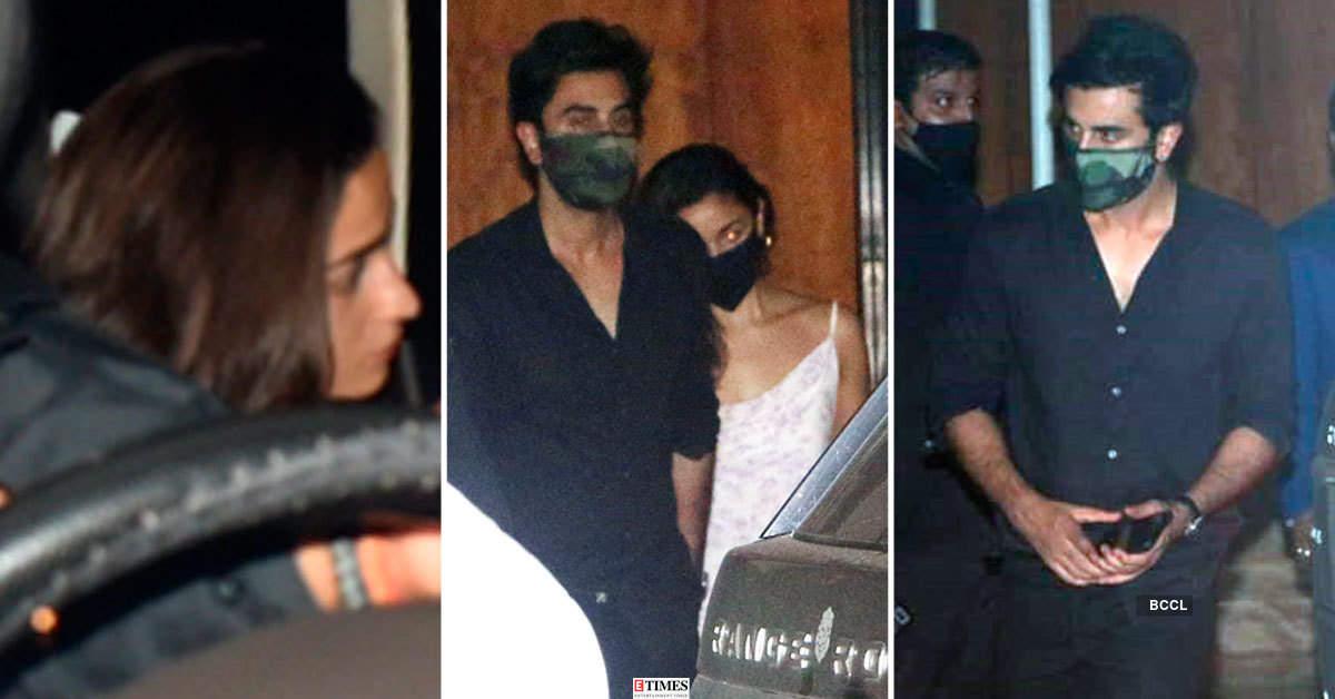 Lovebirds Alia Bhatt-Ranbir Kapoor and others attend Arjun Kapoor's birthday party
