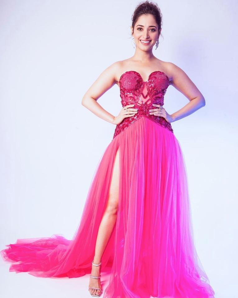 Actress Tamannaah Bhatia's bewitching pictures go viral