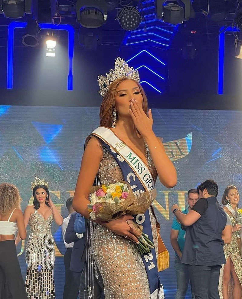 Andrea Aguilera chosen as Miss Grand Ecuador 2021