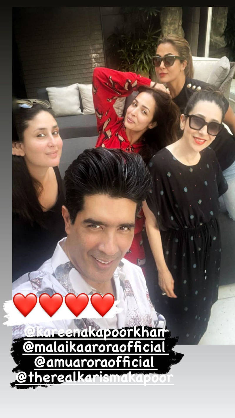 Unmissable pictures from Kareena Kapoor and Malaika Arora's lunch date with BFFs!