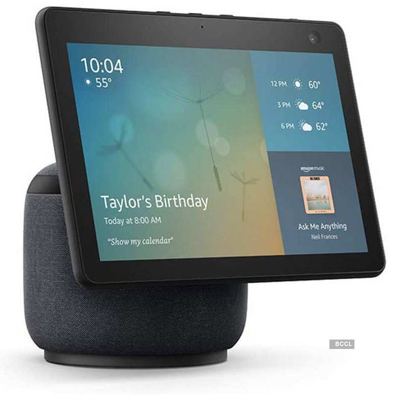 Amazon launches Echo Show 10 and Echo Show 5