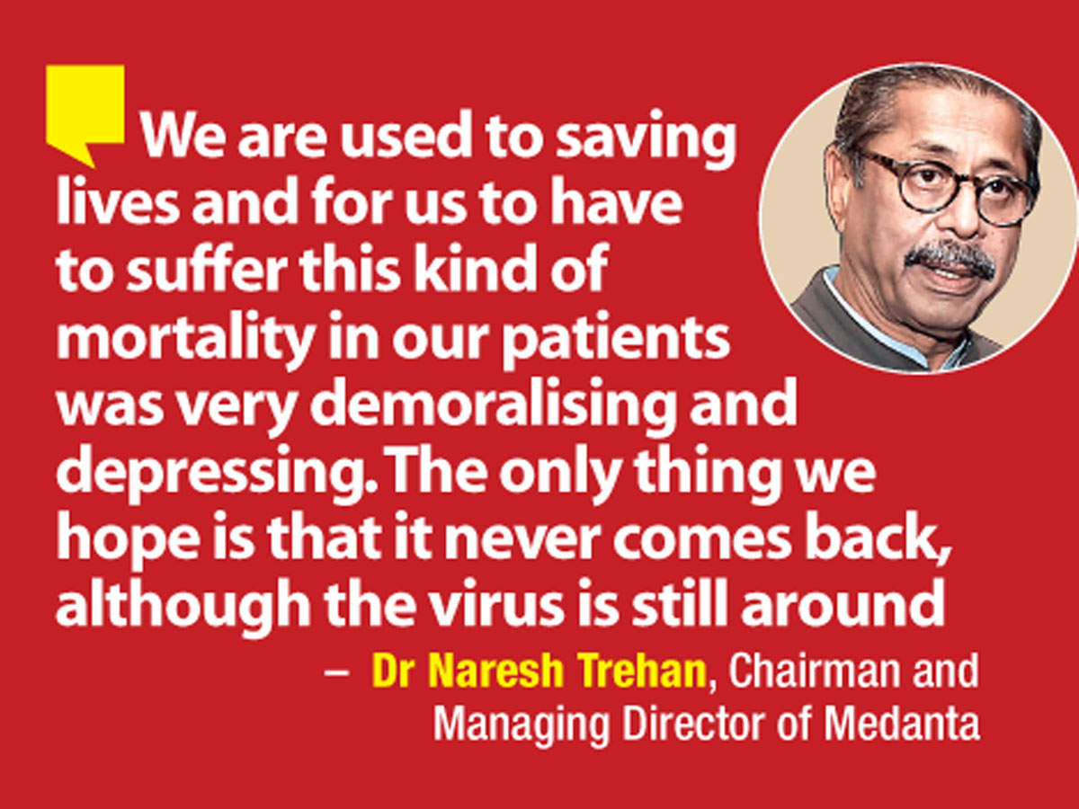 Dr Naresh Trehan, Chairman and Managing Director of Medanta, shares that the second wave shook the medical fraternity