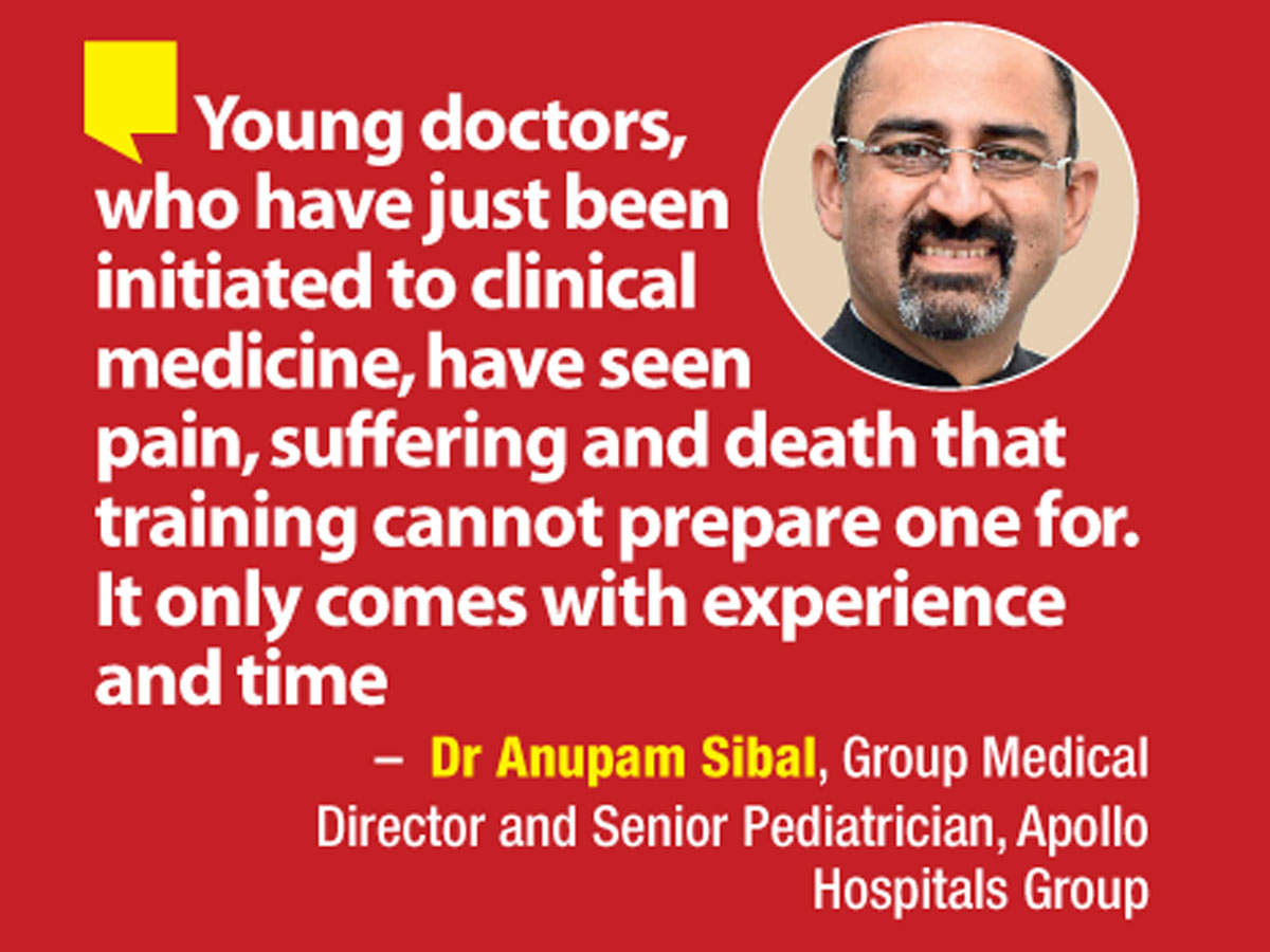 Dr Anupam Sibal, Group Medical Director and Senior Pediatrician, Apollo Hospitals Group, shares young doctors have seen pain and suffering during the second wave