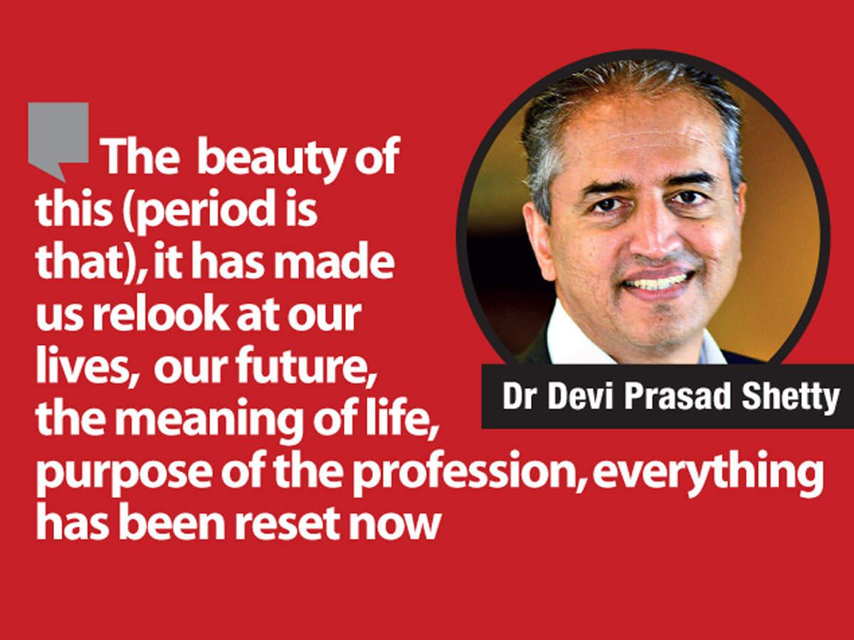 Dr Devi Prasad Shetty, Founder and Chairman, Narayana Health