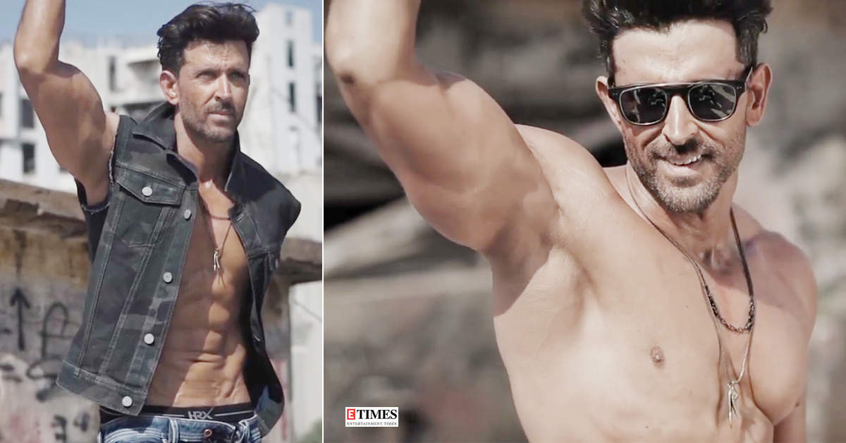 New shirtless pictures of Bollywood heartthrob Hrithik Roshan sweep the internet!