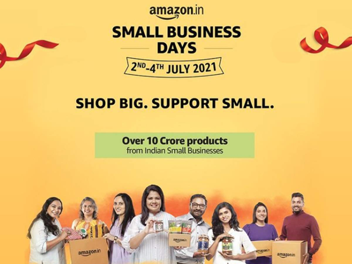 How Amazon India get is supporting small businesses
