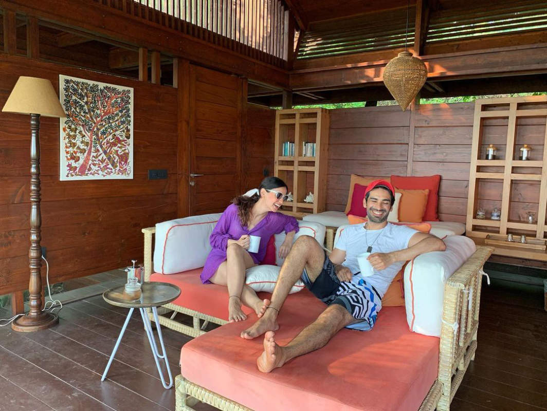Sanaya Irani and Mohit Sehgal's vacation pictures will leave you mesmerised