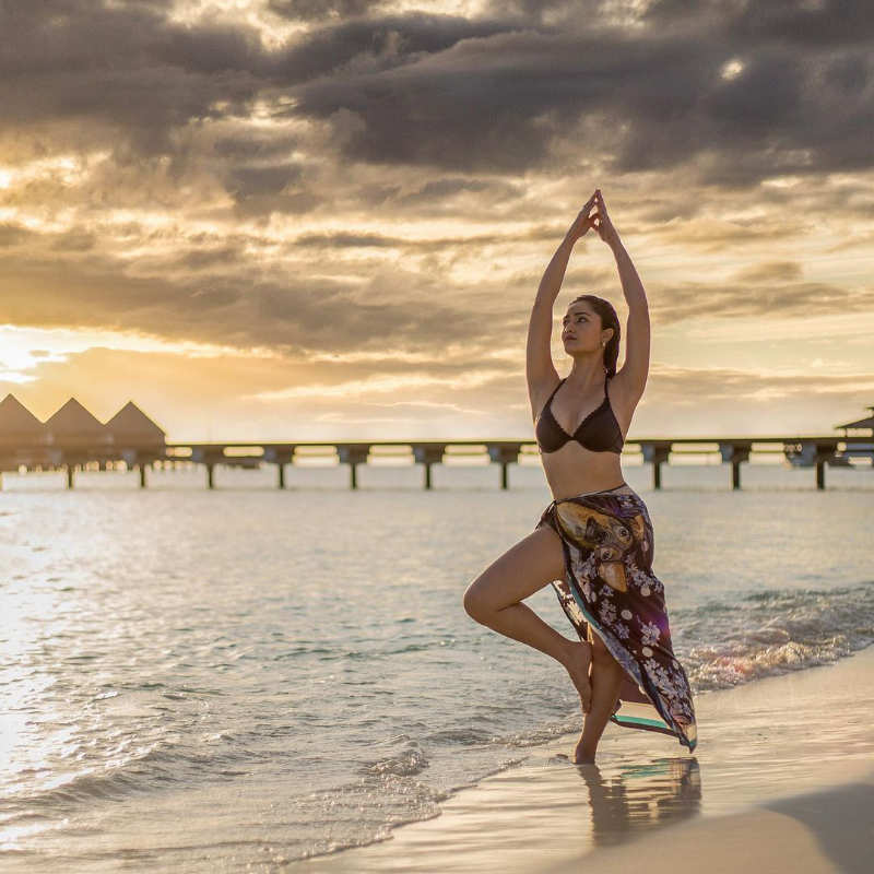 Stunning beach vacation pictures of Tridha Choudhury will make you fall in love with her...